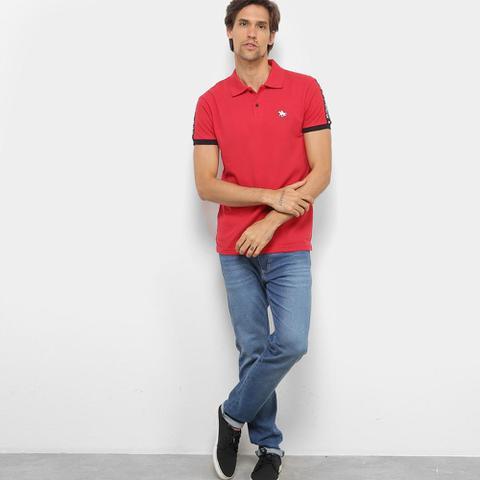 Imagem de Camisa Polo RG 518 Aplique Masculina