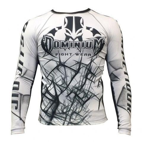 Imagem de Camisa Rash Guard Compressão Neon Branca Jiu Jitsu
