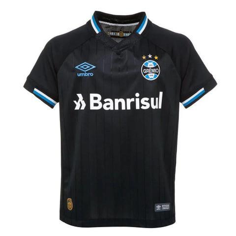 Imagem de Camisa Umbro Grêmio Oficial III 2018 Juvenil