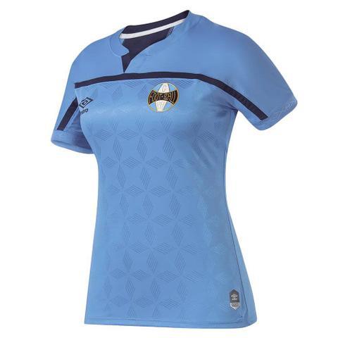 Imagem de Camisa Umbro Grêmio Oficial III 2020 Feminina - Azul