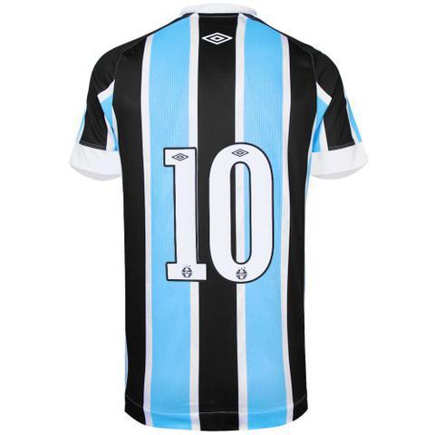 Imagem de Camisa Umbro Masculina Grêmio Oficial I 2021 Classic Nº10