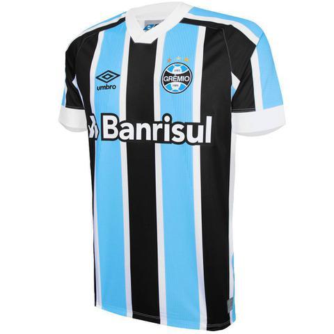 Imagem de Camisa Umbro Masculina Grêmio Oficial I 2021 Classic S/Nº