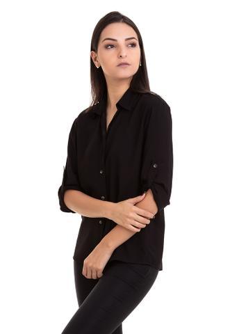 Imagem de Camisa Viscose Manga ¾ Martingale