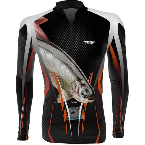 Imagem de Camiseta de Pesca MTK Atack A Piracanjuba - GG