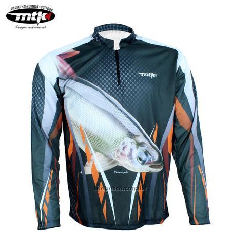 Imagem de Camiseta De Pesca MTK Atack Z - Protecao Solar Uv - Piracanjuba