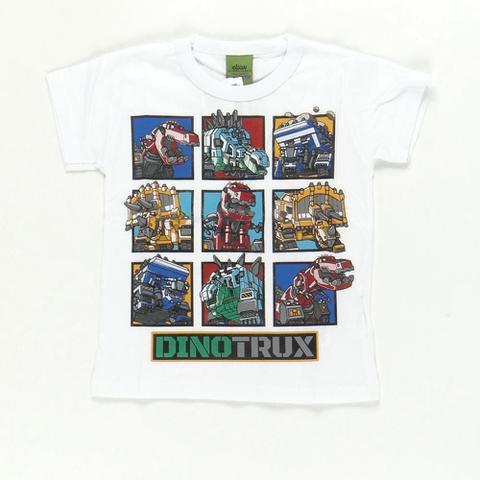 Imagem de Camiseta Dinotrux Quadrinhos Branco - Elian