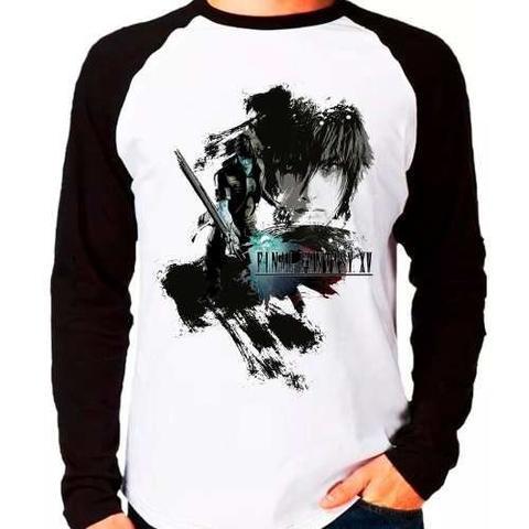 Imagem de Camiseta Final Fantasy Xv Nocts Ffxv Raglan Manga Longa