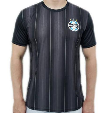 Imagem de Camiseta Grêmio Dry Horizon Masculina - Preta