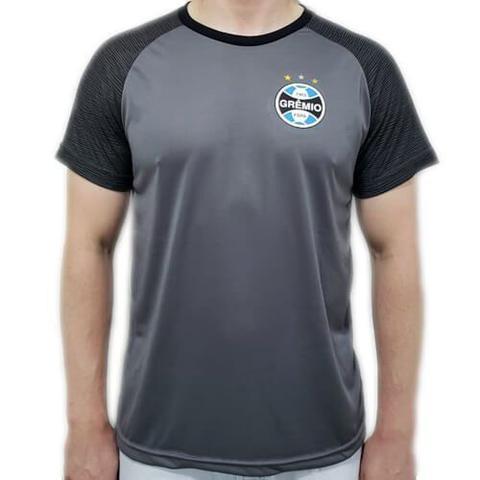 Imagem de Camiseta Grêmio Dry Marks Masculina - Preta