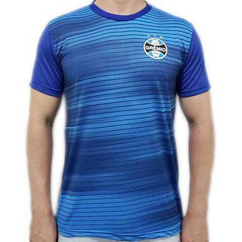 Imagem de Camiseta Grêmio Dry Speed Masculina - Azul e Marinho