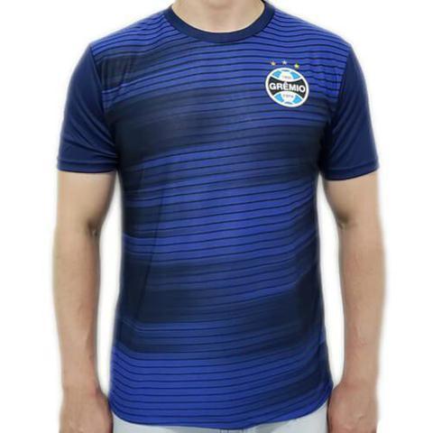 Imagem de Camiseta Grêmio Dry Speed Masculina - Marinho e Azul