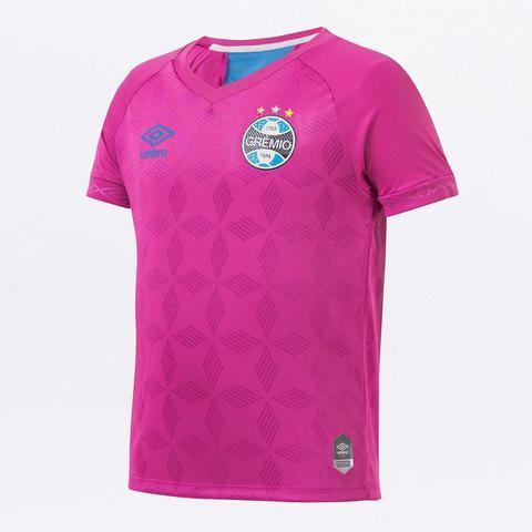 Imagem de Camiseta Grêmio Infantil Outubro Rosa 20/21 s/n Torcedor Umbro