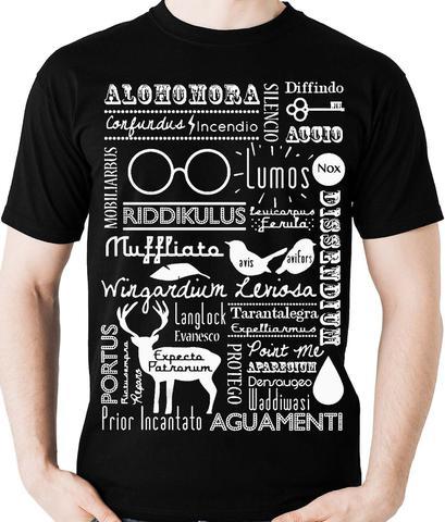 Imagem de Camiseta Harry Potter Feitiços (nerd / Geek) Camisa Blusa