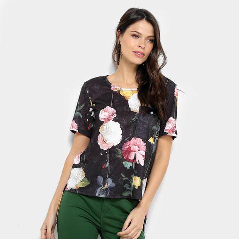 Imagem de Camiseta Lança Perfume Floral Feminina