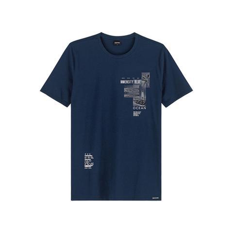 Imagem de Camiseta masculina enfim slim gola redonda