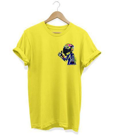 Imagem de Camiseta Masculina Motoqueiro Loucos Por Motos No Grau Capacete