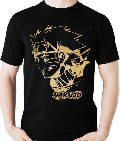 Imagem de Camiseta Naruto Shippuden  Camisa Blusa Anime Geek M2