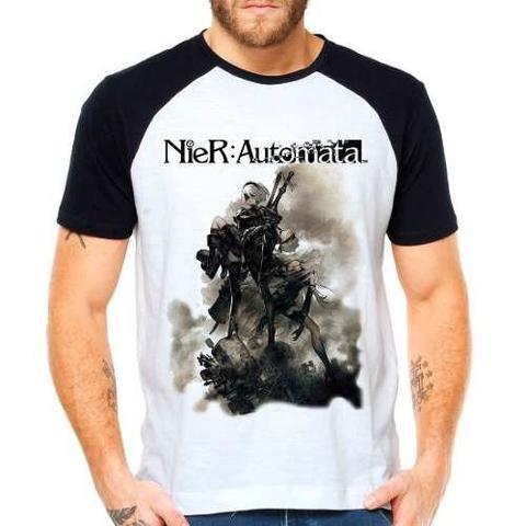 Imagem de Camiseta Nier Automata Game Raglan Manga Curta