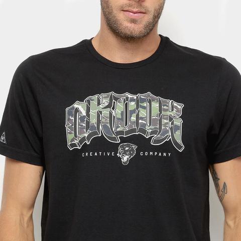 Imagem de Camiseta Okdok Classic Logo Camo - Masculina