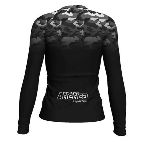 Imagem de Camiseta Rash Guard Jiu Jitsu Femi Térmica Uv ATL