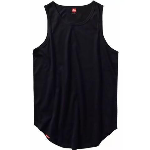 Imagem de Camiseta Regata Masculina C80 - Regata Longline Vcstilo