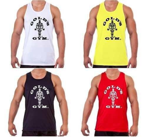 Imagem de Camiseta Regata Musculação Gold's Gym