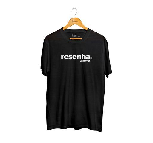 Imagem de Camiseta Resenha É Mato Preta Masculina