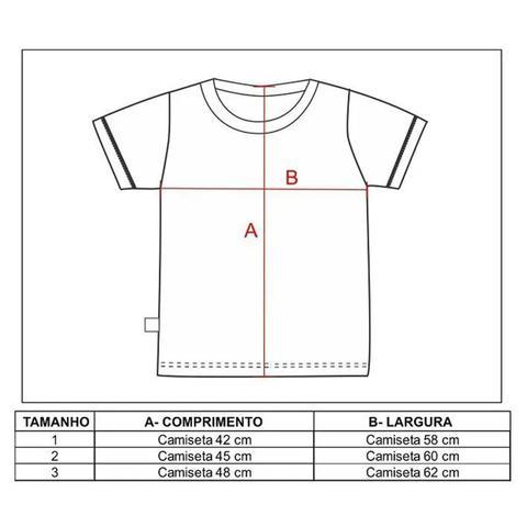 Imagem de Camiseta revedor grêmio m.malha listrado unissex branco azul e preto