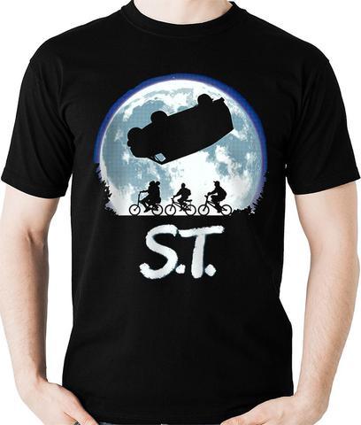Imagem de Camiseta Série Stranger Things ET Parodia Geek Camisa Blusa