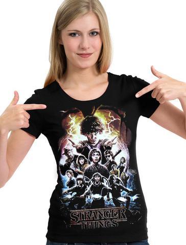 Imagem de Camiseta Stranger Things 2 Temporada (geek) Camisa Blusa
