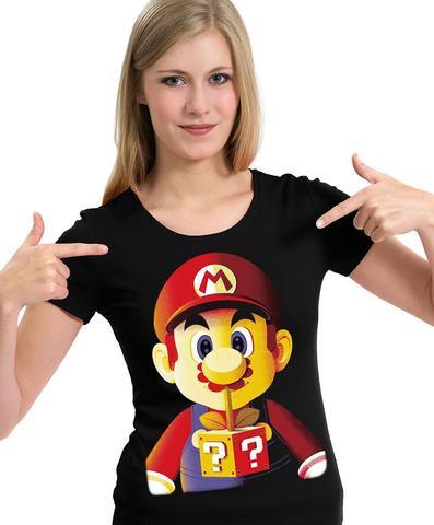 Imagem de Camiseta Super Mario Bros (game Geek)- Camisa Blusa