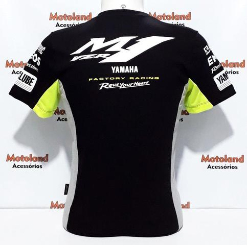 Imagem de Camiseta Yamaha Moto Gp Preta 261