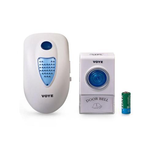 Imagem de Campainha Sem Fio Wireless 38 Toques Controle Volume - Voye