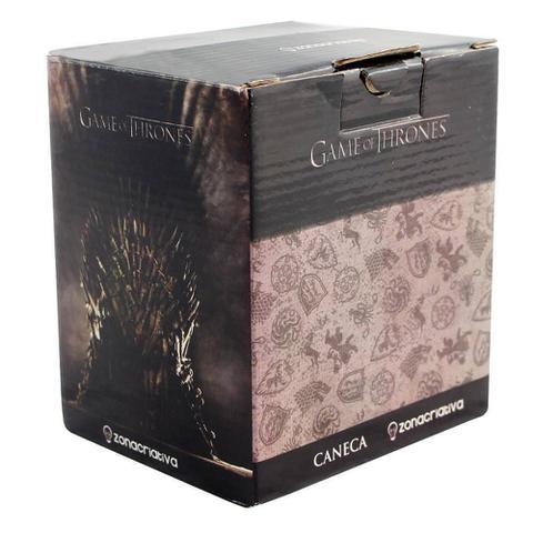Imagem de Caneca 3D Escudo 500ml Targaryen Game Of Thrones