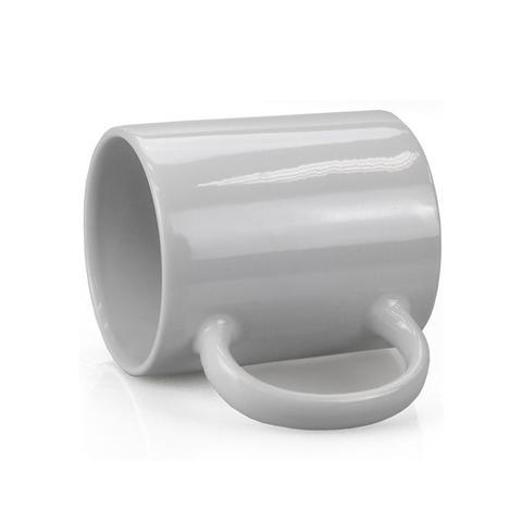 Imagem de Caneca Branca Lisa Porcelana Sublimação 325ml - 1 unidade