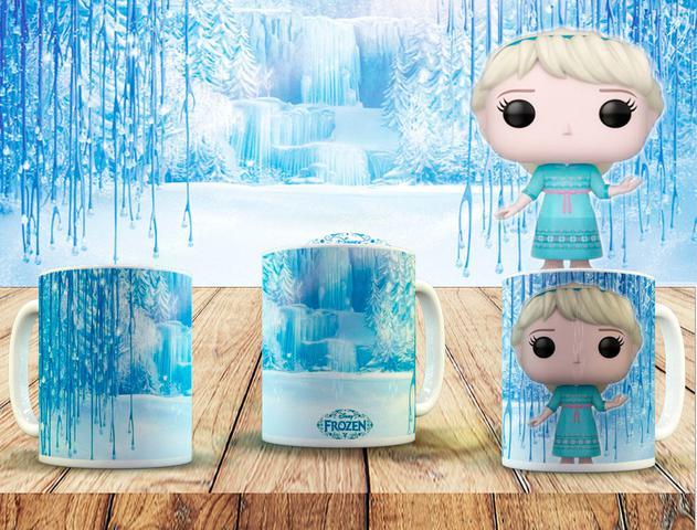 Imagem de Caneca colecionável funko pop frozen