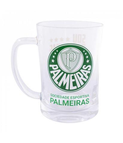 Imagem de Caneca de Vidro Time Palmeiras