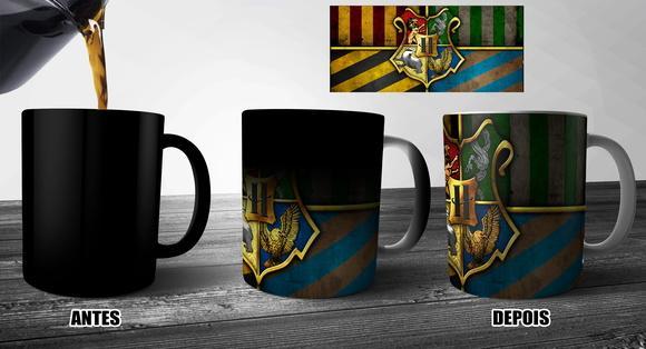 Imagem de Caneca Mágica Harry Potter - Hogwarts