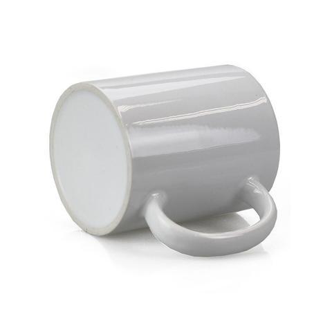 Imagem de Caneca p/ Sublimação Porcelana Branca Lisa 325ml - 6 Unid