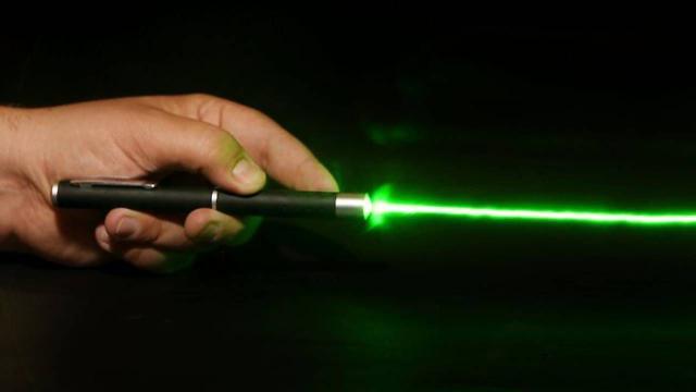 Imagem de Caneta laser Pointer Verde 5 Ponteiras De Efeito