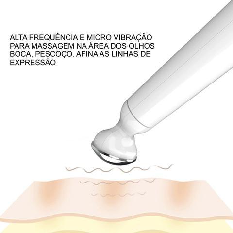Imagem de Caneta Massagem Vibratória para Olhos - Anti Rugas Olheiras (Branca)