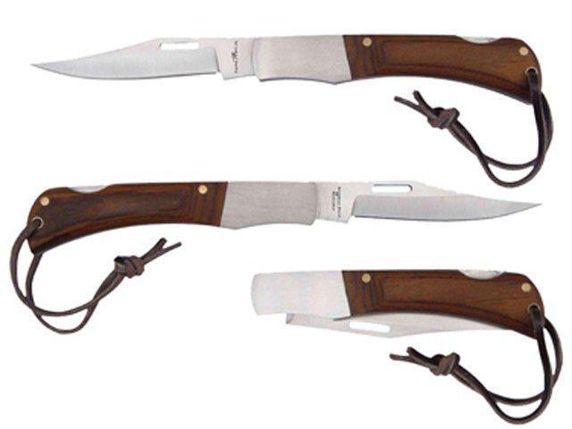 Imagem de Canivete Inox com Trava de Segurança Nautika
