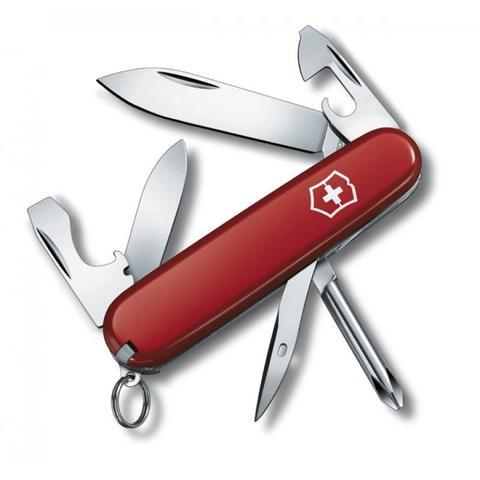 Imagem de Canivete Suíço Victorinox Tinker Small Vermelho 12 funções Original 0.4603