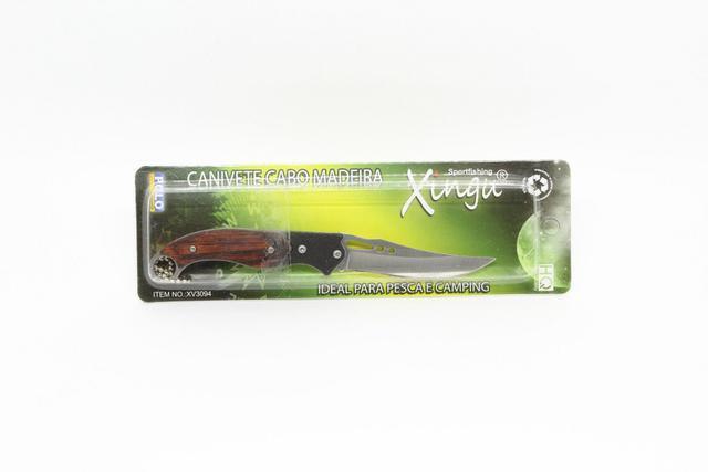 Imagem de Canivete Xingu XV3094 - Cabo Madeira