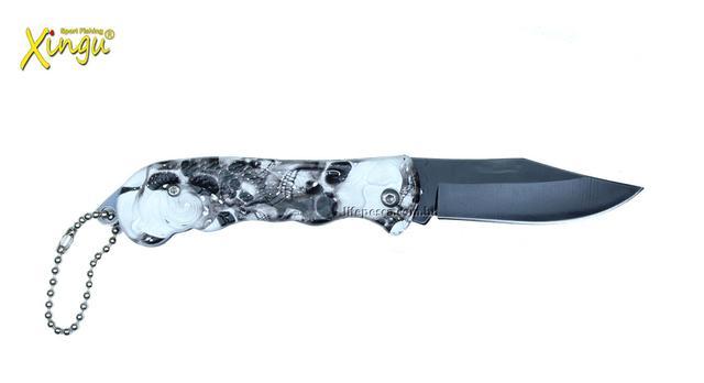 Imagem de Canivete Xingu XV3095 - Cabo Caveira