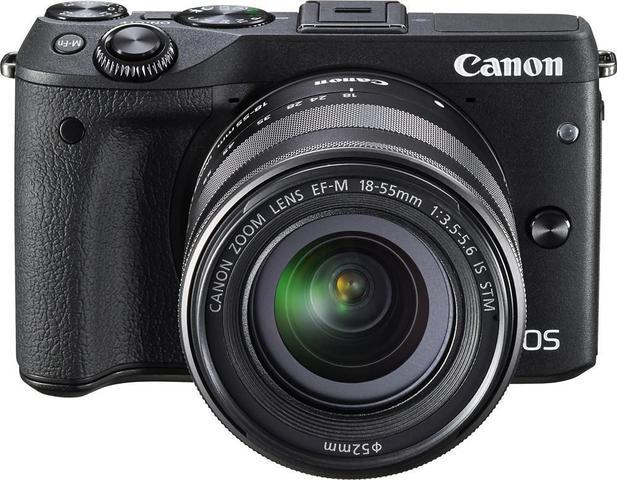 Câmera Digital Canon M3 Mark Iii Preto 24.2mp - 18-55mm