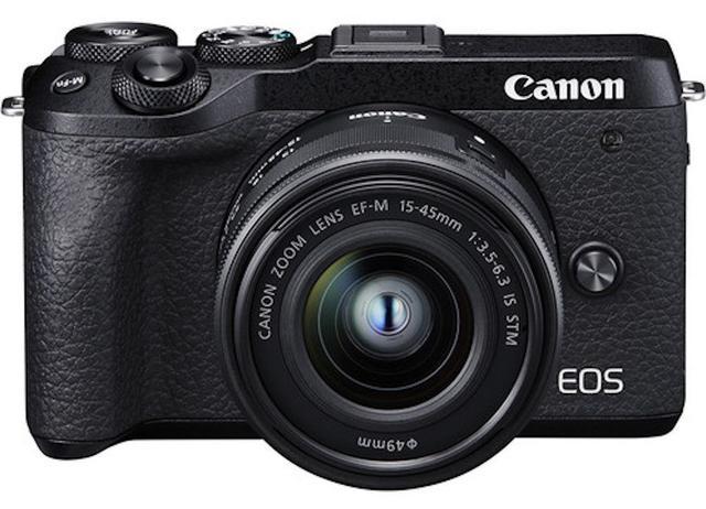 Câmera Digital Canon Eos Preto 24.2mp - M6 Mark Ii | 15-45mm