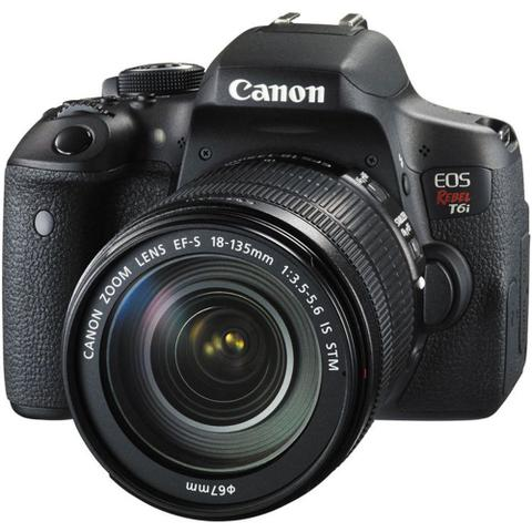 Imagem de CANON EOS REBEL T6i KIT 18-135mm IS STM -  24MP