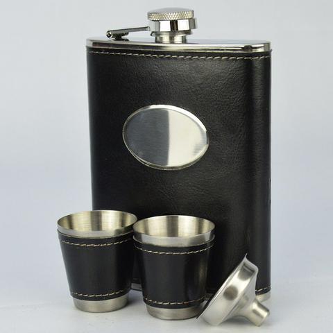 Imagem de Cantil De Bolso Porta Bebida Whisky Caneta CBRN113739