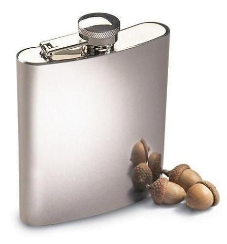 Imagem de Cantil Porta Bebida De Bolso 230ml Inox